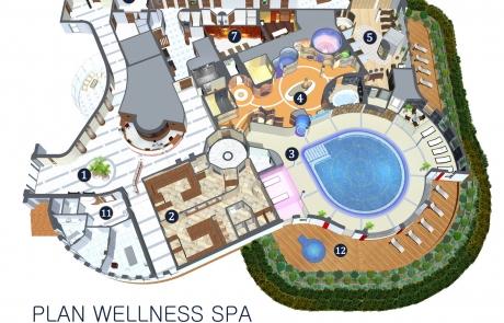 widok 3D SPA w Hotelu Unitral w Mielnie