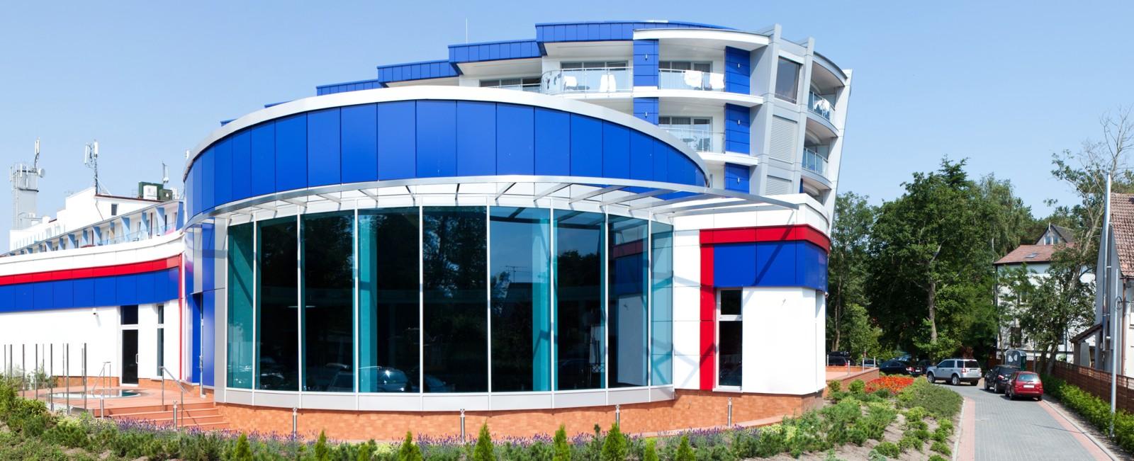 projekt hotelu Unitral w Mielnie