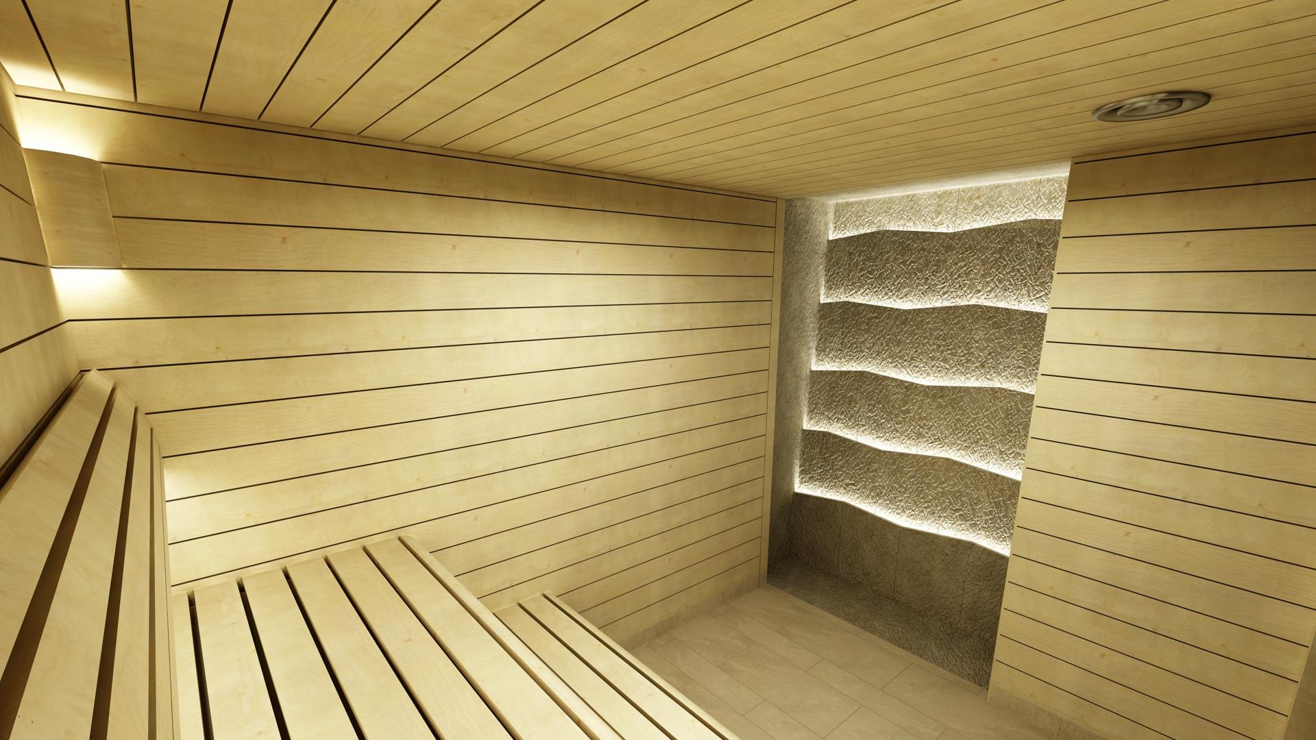 projekt sauny fińskiej